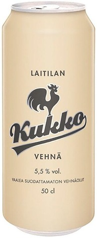 Laitilan Kukko Vehnä 5,5% 0,5L Olut
