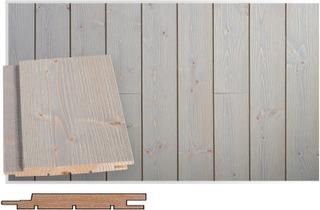 Maler Spa Sts-3 Piilonaula Ympäripontattu Tk Kuusi Rustik 14X120x2100 Spa Harjattu Usva 8756047-2100 Maler