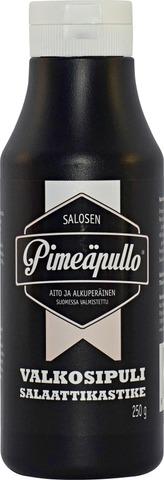 Salosen Pimeäpullo 250g Valkosipulisalaattikastike
