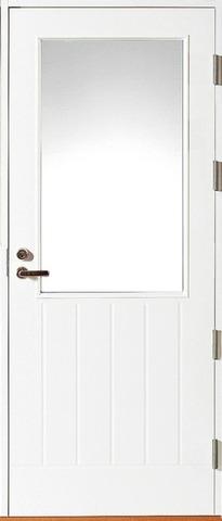HALLTEX Ovet Venla valkoinen 12 M 9x21 oikea