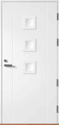 Halltex Ovet Siiri 01 Valkoinen 9X21 Oikea