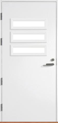 Halltex Ovet Heta 03 Valkoinen 10X21 Vasen