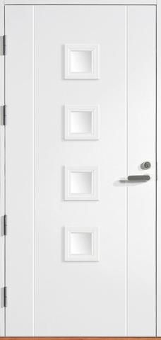 Halltex Ovet Siiri 03 Valkoinen 10X21 Vasen