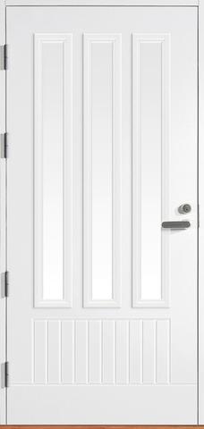 Halltex Ovet Toivo 04 Valkoinen 9X21 Vasen
