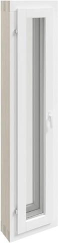 Kaski Ikkuna Msea 3X12 Valkoinen Tuuletusikkunalla