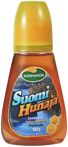 Korpiahon Suomi Hunaja 250 G Juokseva