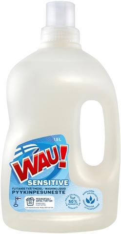 Wau Sensitive Color 1,5 L Pyykinpesuneste