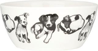 Kultakeramiikka 0,4 L Koiran Ystävä -Kulho