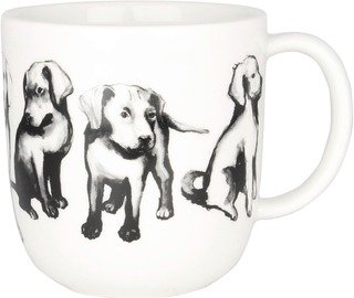 Kultakeramiikka 0,3L Koiran Ystävä -Muki Noutaja