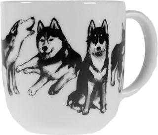 Kultakeramiikka 0,3L Koiran Ystävä -Muki Husky
