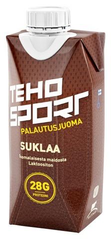 Teho Sport Palautusjuoma Voimaharjoitteluun Suklaa 0,33 L