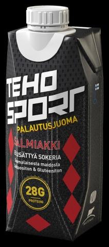 Teho Sport Salmiakki Paljuoma-Ei Lisättyä Sokeria 0,33 L Tetra