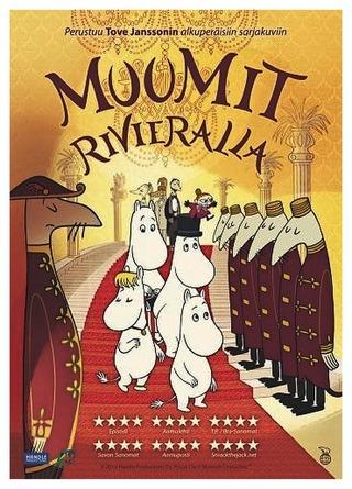 Muumit Rivieralla Dvd
