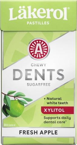 Läkerol Dents Fresh Apple Ksylitolipastilli 36G