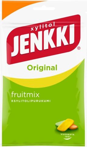 Jenkki Original Fruit Mix Ksylitolipurukumi 100G