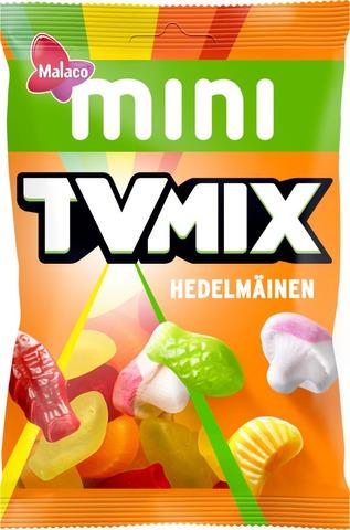 Malaco Mini Tv Mix Hedelmäinen Makeissekoitus 110G