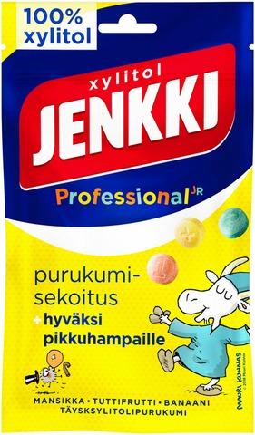 Jenkki Professional Purukumisekoitus Täysksylitolipurukumi 75G