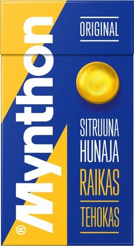 Mynthon Sitruuna-Hunaja Kurkkupastilli 39G