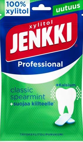 Jenkki Professional Classic Spearmint täysksylitolipurukumi 90g