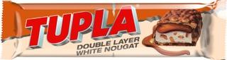 Tupla Double Layer White Nougat Suklaapatukka 48G