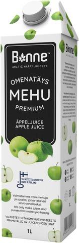 Bonne Premium Omenatäysmehu 1L