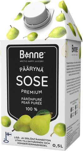 Bonne Premium Päärynäsose 0,5L