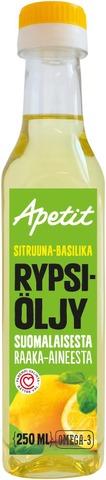 Apetit 250Ml Rypsiöljy Sitruuna-Basilika