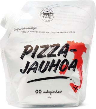 750G Hungry Chef Pizzajauho, 00-Vehnäjauhoja