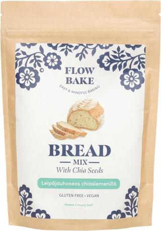 Flow Bake - Chia-Siemenleipä Jauhoseos 320G