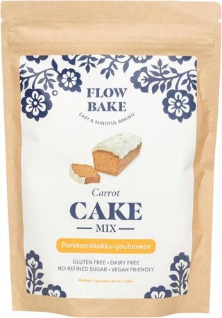 Flow Bake - Porkkanakakku-Jauhoseos 315G