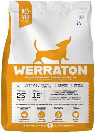 Rovio Pet Foods Werraton Viljaton 5 Kg