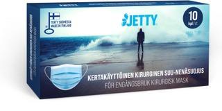 Jetty Kirurginen Suu-Nenäsuoja Type Ii 10Kpl, Valmistettu Suomessa, Ce Merkitty