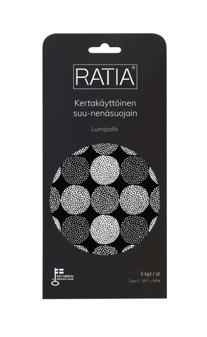 Ratia-designmaski