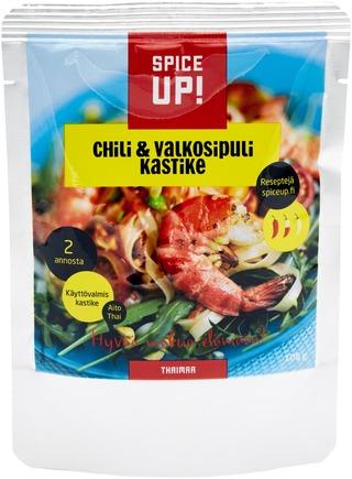 Spice Up! Chili & Valkosipulikastike 100G