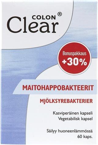 Colon Clear Maitohappobakteeri 60Kaps
