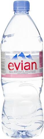 Evian 1L Luontainen Kivennäisvesi