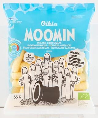 Real Snacks Moomin Luomumaissinaksu 35G
