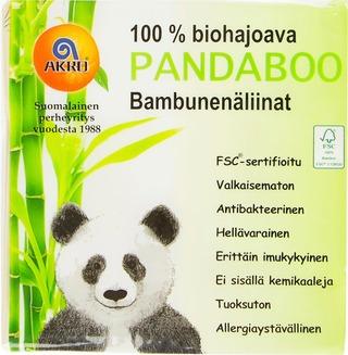 Pandaboo bambunenäliinat