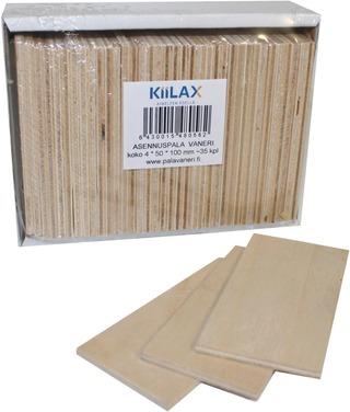 KIILAX asennuspala 4,0MMX50MMX100MM 35 KPL / LTK