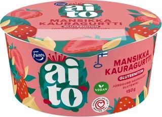 Fazer Aito Gluteeniton Mansikka Kauravälipala 150G