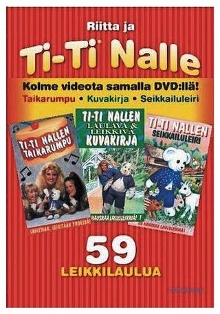 Dvd Ti-Ti Nalle Taikarumpu