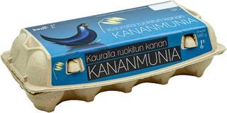 Kanax Suomalaisia Kauralla Ruokittuja Kananmunia M10 580 G