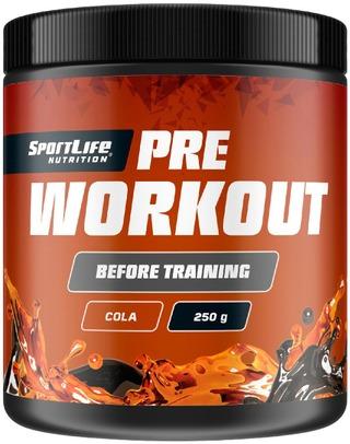 Sportlife Nutrition Pre-Workout 250G Cola Tehonlisäysjuomajauhe