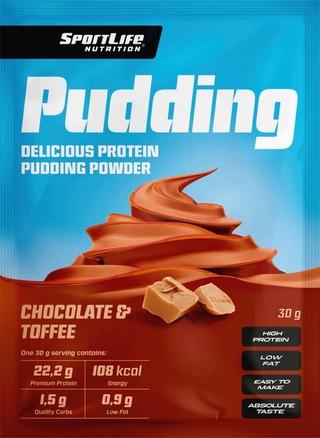 Sportlife Nutrition Pudding 30G Suklaa-Toffee Proteiinivanukas