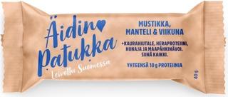 SportLife Foods Äidin patukka 40g Mustikka-manteli-viikuna välipalapatukka