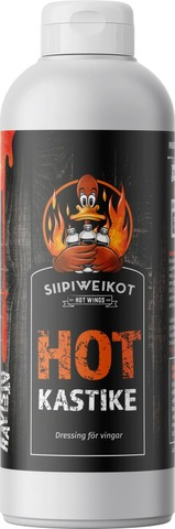 Siipiweikot Siipikastike Hot 0,5L