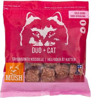 10x DUO+ Sika-kana Täysrehu kissoille 500g