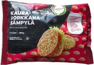 Vuohelan Gluteeniton Kaura-Porkkanasämpylä 4/280G Pakaste