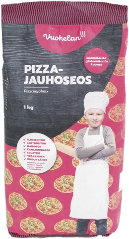 Vuohelan Gluteeniton Pizzajauhoseos 1Kg