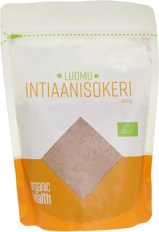 Organic Health Luomu Intiaanisokeri 400G